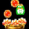 Trofeo de Lakitu y picudos SSB4 (Wii U)