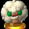 Trofeo de Whimsicott SSB4 (3DS)
