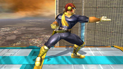 Burla lateral Captain Falcon SSBB