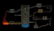 Laberinto Subterráneo completo en el Modo Aventura SSBM
