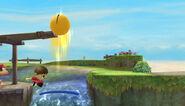 Pac-Man usando Pac-Salto SSB4 (Wii U)