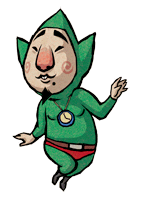 Pegatina Tingle Wind Waker SSBB