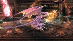 Ridley Rugido SSB4 (Wii U)
