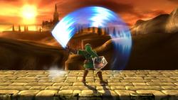 Ataque Smash superior de Link (1) SSB4 (Wii U)