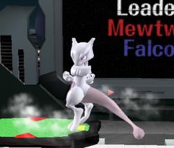 Ataque de recuperación de cara al suelo de Mewtwo (2) SSBM