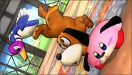 Créditos Modo Senda del guerrero Dúo Duck Hunt SSB4 (3DS)