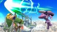 Genesect atacando a Toon Link SSB4 (Wii U)