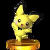 Trofeo de Pichu SSB4 (3DS)