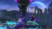 Ataque Smash Hacia Abajo Bayonetta SSB Wii U