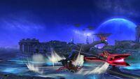 Ataque de Recuperación Boca Arriba Bayonetta SSB Wii U