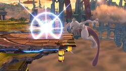 Ataque de recuperación en el borde Mewtwo (1) SSB4 (Wii U)