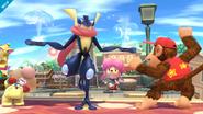 Burla de Greninja SSB4 (Wii U)