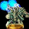 Trofeo de Cara de Jade SSB4 (Wii U)
