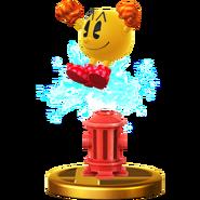 Trofeo de PAC-MAN (alt.) SSB4 (Wii U)