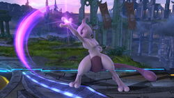 Ataque normal Mewtwo (3) SSB4 (Wii U)