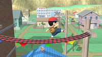 Ataque normal Ness (3) SSB4 (Wii U)