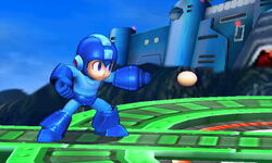 Ataque normal de Mega Man SSB4 (3DS)