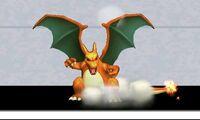 Burla hacia abajo de Charizard (1) SSB4 (3DS)