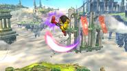 Patadas destructoras (4) SSB4 (Wii U)