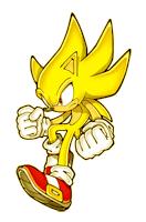 Pegatina Super Sonic SSBB