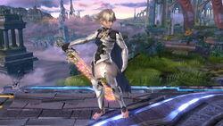 Pose de espera 2 Corrin SSB4 (Wii U)