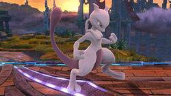 Pose de espera 2 Mewtwo (2) SSB4 (Wii U)