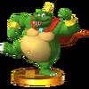 Trofeo de King K. Rool SSB4 (3DS)
