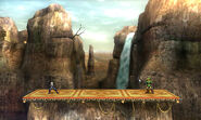 Valle Gerudo (Forma Destino Final) SSB4 (3DS)