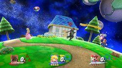 Marca de amiibo en versión española SSB4 (Wii U)