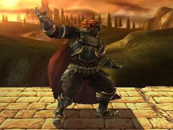Pose de espera Ganondorf SSBB (2)