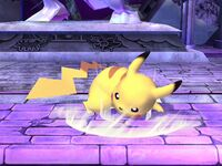 Ataque fuerte inferior Pikachu SSBB