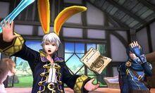 Daraen y Lucina en Casa Rural SSB4 (3DS)