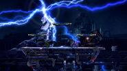 Efecto de Ramuh en Midgar (1) SSB4 (Wii U)