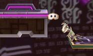 Greninja y Pooka (invisible) en Smashventura SSB4 (3DS)