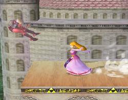 Lanzamiento trasero de Zelda (2) SSBM