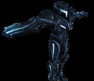 Pose T Samus oscura SSB4 (Wii U)