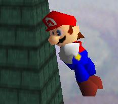 Ataque aéreo hacia abajo de Mario SSB