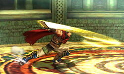 Ataque fuerte lateral Ike SSB4 (3DS)