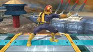 Burla lateral de Captain Falcon (2) SSB4 (Wii U)