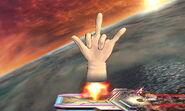 Crazy Hand Cohete (1) SSB4 (3DS)