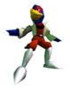 Pegatina Falco Star Fox 64 SSBB