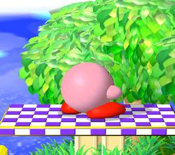 Pose de espera de Kirby (1) SSBM