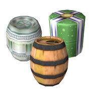 Tipos de barriles SSBB