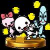 Trofeo de Boliche, Gafotas y Lacito SSB4 (Wii U)