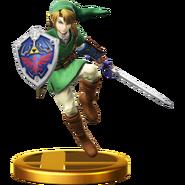 Trofeo de Link SSB4 (Wii U)