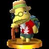 Trofeo de Tórtimer SSB4 (3DS)