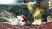 Ataque Smash lateral de Ike (2) SSB4 (Wii U)
