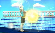 Entrenador de Wii Fit usando Saludo al sol SSB4 (3DS)