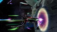 Fox y Samus Zero en la Estacion Espacial SSB4 (Wii U) (2)