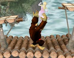 Lanzamiento hacia arriba de Donkey Kong (4) SSBM